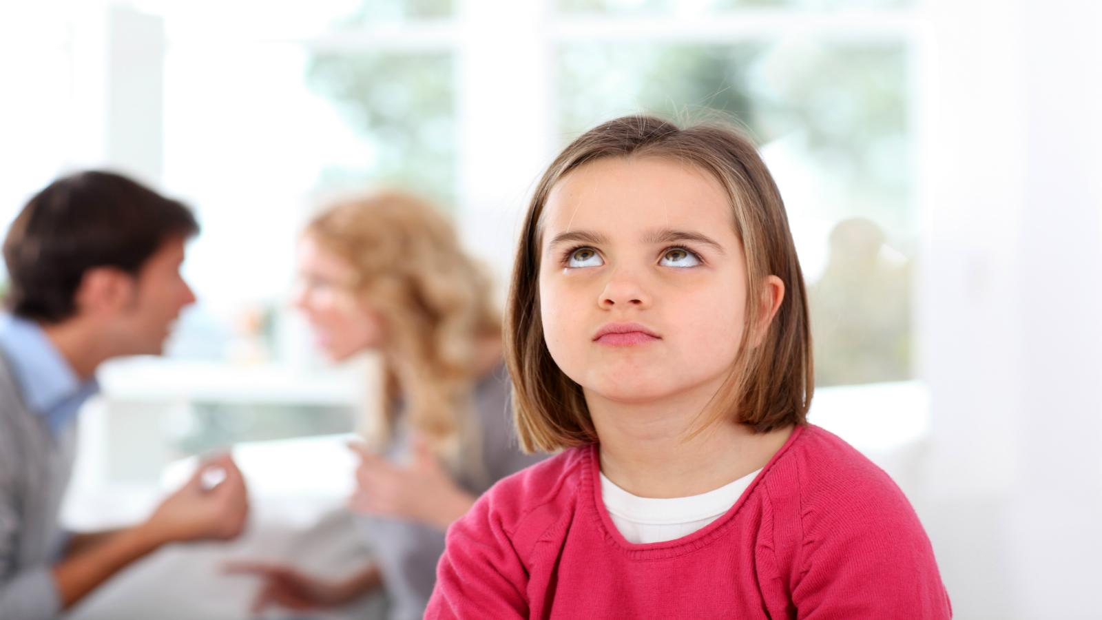 come reagiscono i figli alla separazione