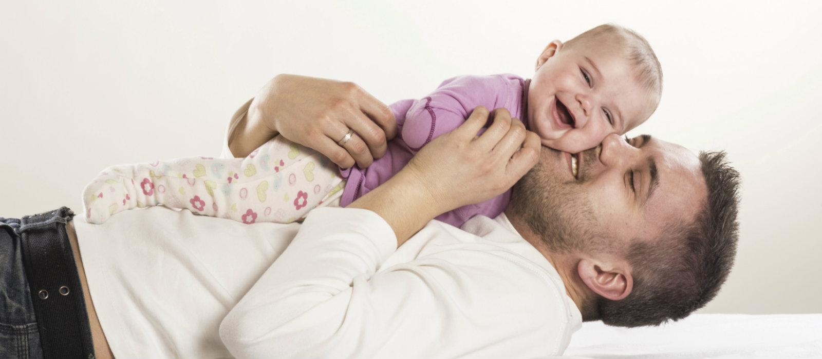 dimostrare l'affetto ai figli con piccoli gesti