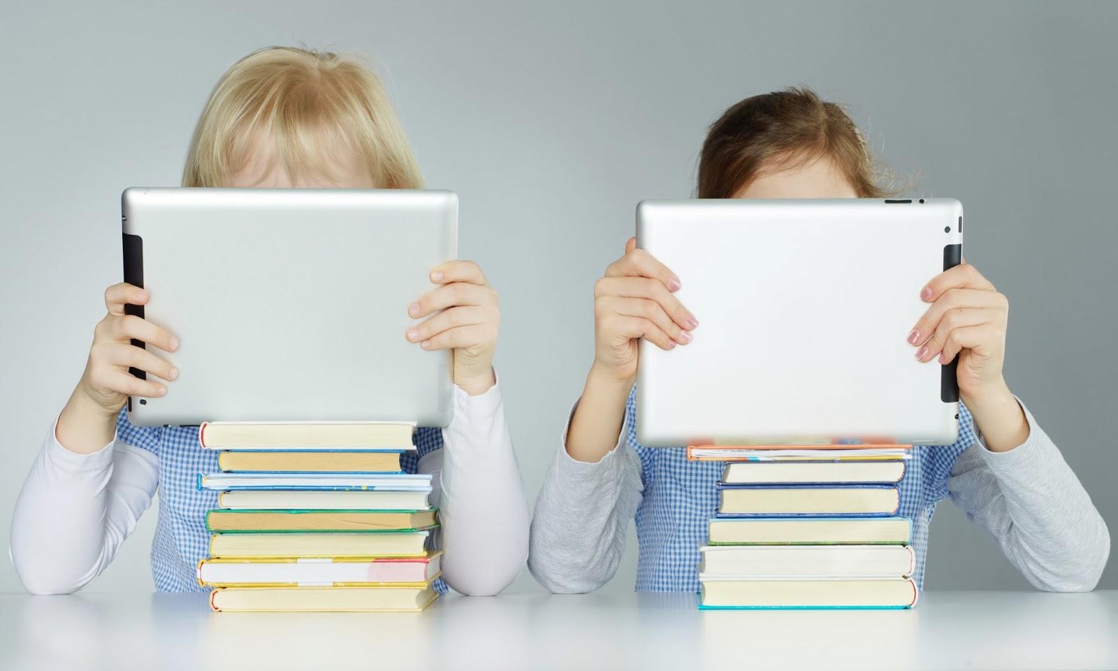 il rapporto tra bambini e tecnologia