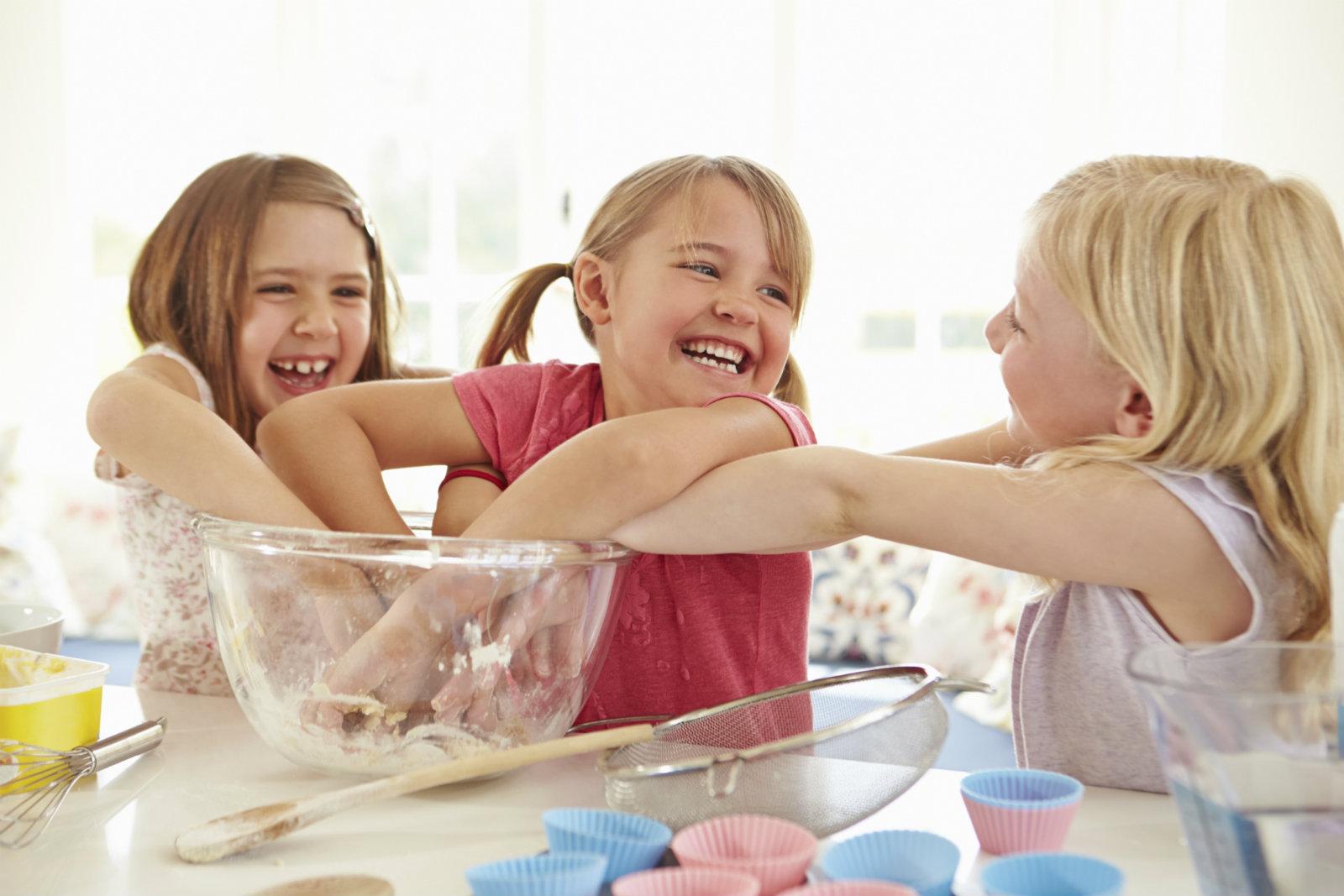 perché cucinare con i bambini