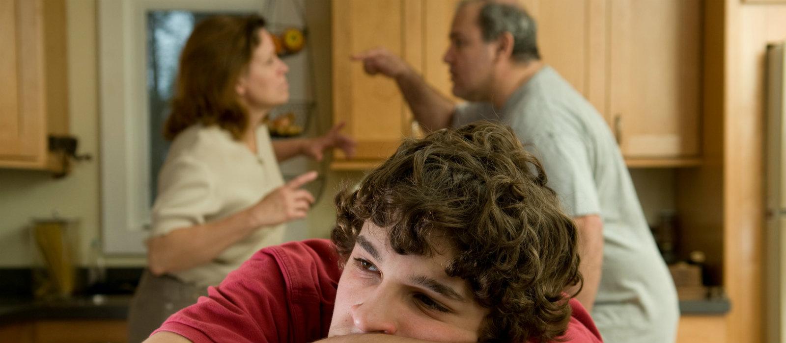 quando i genitori non vanno d'accordo