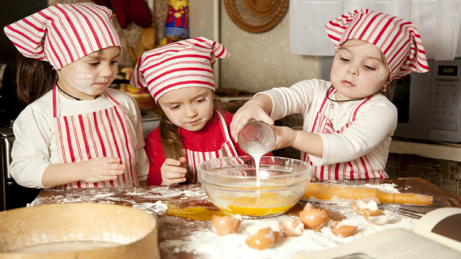 tre ricette da fare con i bambini