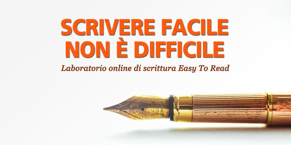 Laboratorio online di scrittura easy to read