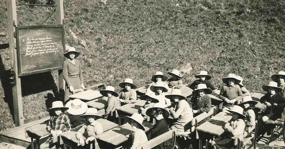 Soddisfare il bisogno di natura dei bambini con la scuola all'aperto
